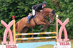 Van Dijck Joris (BEL) - Kaiser vh Lambroeck<br /> SBB Competitie Jonge Paarden - Nationaal Kampioenschap - Kieldrecht 2014<br /> © Dirk Caremans