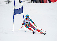 Piche Invitational giant slalom at Gunstock.  U14 mens 2nd run.  ©2014 Karen Bobotas Photographer