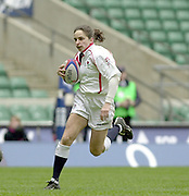 Twickenham, Surrey, 15th February 2003, Six Nationals International RFU Stadium, England,[Mandatory Credit: Peter Spurrier/Intersport Images], <br /> 2003 Women's International Rugby England v France<br /> Susan Day