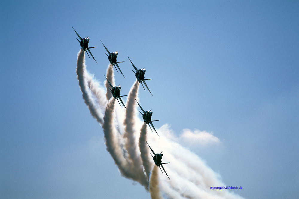 Blue Angels in F-18As