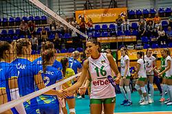 22-08-2017 NED: World Qualifications Slovenia - Bulgaria, Rotterdam<br /> Bulgaria win 3-1 against Slovenia / team Bulgaria, Elitsa Vasileva #16 of Bulgaria<br /> Photo by Ronald Hoogendoorn / Sportida