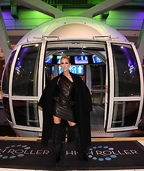 """Celine Dion releases a photo on Twitter with the following caption: """"""""High Fashion at the @HighRollerVegas // Haute couture au #HighRollerVegas - Team Céline<br /> 📸 : @DeniseTruscello<br /> <br /> #Nightout"""""""". Photo Credit: Twitter *** No USA Distribution *** For Editorial Use Only *** Not to be Published in Books or Photo Books ***  Please note: Fees charged by the agency are for the agency's services only, and do not, nor are they intended to, convey to the user any ownership of Copyright or License in the material. The agency does not claim any ownership including but not limited to Copyright or License in the attached material. By publishing this material you expressly agree to indemnify and to hold the agency and its directors, shareholders and employees harmless from any loss, claims, damages, demands, expenses (including legal fees), or any causes of action or allegation against the agency arising out of or connected in any way with publication of the material."""