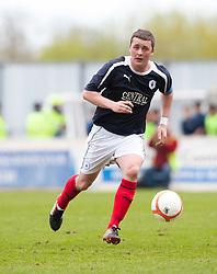 Falkirk's Thomas Scobie..Falkirk's Football Club's last game of season 2011-2012..Falkirk 3 v 2 Ayr United, 5/5/2012..©Michael Schofield..