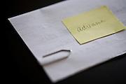 Belo Horizonte_MG, Brasil...Detalhe de uma carta...Detail of a letter...Foto: JOAO MARCOS ROSA / NITRO