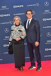 February 18, 2019 - Monaco, Monaco - Fabio Capello arriving at the 2019 Laureus World Sports Awards on February 18, 2019 in Monaco  (Credit Image: © Famous/Ace Pictures via ZUMA Press)