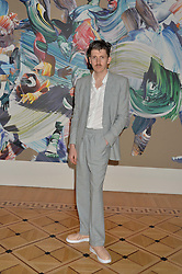 """Artist MATTHEW STONE at a private view of work by Matthew Stone """"Healing The Wounds' held at Somerset House, The Strand, London on 4th July 2016."""