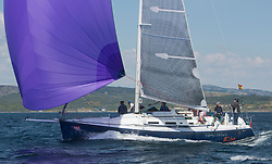 Sailing - SCOTLAND  - 25th-28th May 2018<br /> <br /> The Scottish Series 2018, organised by the  Clyde Cruising Club, <br /> <br /> First days racing on Loch Fyne.<br /> <br /> IRL29213, Something Else, Hall/McDonnell, National YC, J109<br /> <br /> Credit : Marc Turner<br /> <br /> <br /> Event is supported by Helly Hansen, Luddon, Silvers Marine, Tunnocks, Hempel and Argyll & Bute Council along with Bowmore, The Botanist and The Botanist