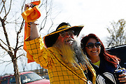 Cowboys and Steelers fans from all over tailgate in parking lot 4 before the game at Cowboys Stadium in Arlington, Texas, on December 16, 2012.  (Stan Olszewski/The Dallas Morning News)