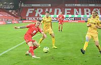 Fotball, 20. september 2020, Eliteserien, Brann-Bodø/Glimt - Robert Taylor<br /> Ulrik saltnes<br /> Fredrik Bjørkan