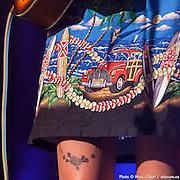 """Les Hay Babies durant leur concert au 32e Festival en Chanson de Petite Vallée """"OK on part"""". Couverture photographique © Marc Gibert / adecom.ca pour Francophonie Express à  Théâtre de la Vieille Forge / Petite Vallée / Gaspésie, Quebec / Canada / 2014-07-02, Photo © Marc Gibert / adecom.ca"""
