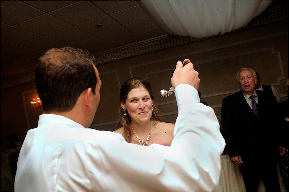 Wedding held at The Chandelier at Flanders Valley Golf Course in Flanders, New Jersey.