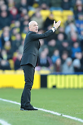 Watford Manager, Giuseppe Sannino - Photo mandatory by-line: Nigel Pitts-Drake/JMP - Tel: Mobile: 07966 386802 11/01/2014 - SPORT - FOOTBALL - Vicarage Road - Watford - Watford v Reading - Sky Bet Championship