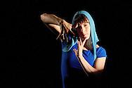 Chicago Tap Theatre - Tap!(ish).Perception, choreography by Kendra Jorstad.Dancer, Laura Chiuve