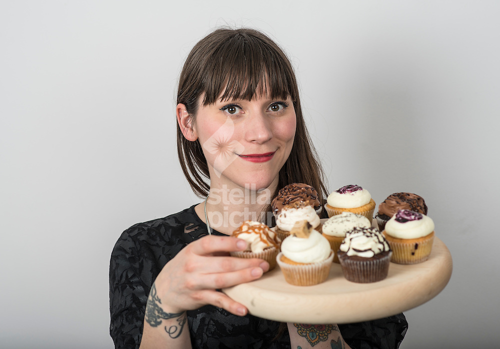 Jemma Wilson, creative director for 'Crumbs & Doilies' at their Soho bakery. <br /> Picture by Daniel Hambury/Stella Pictures Ltd +44 7813 022858<br /> 08/01/2015