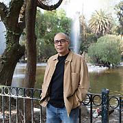 Mexico City, Mexico, January 10, 2017. Yuri Herrera, Mexican writer.