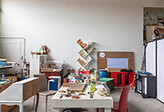 """CAPANNORI, Tuscany,  the fourniture shop of Daccapo organisation. the studio where new projects and ideas for furniture and other goods are designed . Daccapo means """"from skratch"""" """" from the beginning"""""""