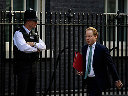 © Licensed to London News Pictures. 13/09/2016. London, UK.  Minister for the Cabinet Office and Paymaster General Ben Gummer MP arrives at 10 Downing Street in London for cabinet meeting on September 13, 2016. Photo credit: Ben Cawthra/LNP