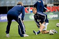 01. August 2010 , Fotball , Tippeligaen  , Viking Stadion , Viking FK v Sandefjord , Erik Nevland , Erik Johannesen , Viking ,   Foto: Tommy Ellingsen