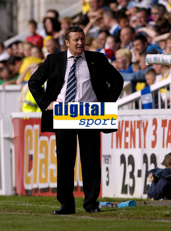 Photo: Jed Wee/Sportsbeat Images.<br /> Hartlepool United v Bristol Rovers. Coca Cola League 2. 05/05/2007.<br /> <br /> Hartlepool manager Danny Wilson.