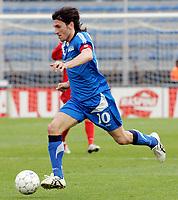 "Ighli Vannucchi (Empoli)<br /> Italian ""Serie A"" 2006-07 <br /> 01 Apr 2007 (Match Day 30)<br /> Empoli-Ascoli (4-1)<br /> ""Castellani"" Stadium-Empoli-Italy<br /> Photographer Luca Pagliaricci INSIDE"