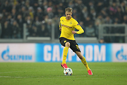 24.02.2015, Veltins Arena, Turin, ITA, UEFA CL, Juventus Turin vs Borussia Dortmund, Achtelfinale, Hinspiel, im Bild Oliver Kirch #21 (Borussia Dortmund) // during the UEFA Champions League Round of 16, 1st Leg match between between Juventus Turin and Borussia Dortmund at the Veltins Arena in Turin, Italy on 2015/02/24. EXPA Pictures © 2015, PhotoCredit: EXPA/ Eibner-Pressefoto/ Kolbert<br /> <br /> *****ATTENTION - OUT of GER*****