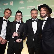 NLD/Amsterdam/20200211 - Uitreiking Edison Pop 2020, Kensington wint een Award