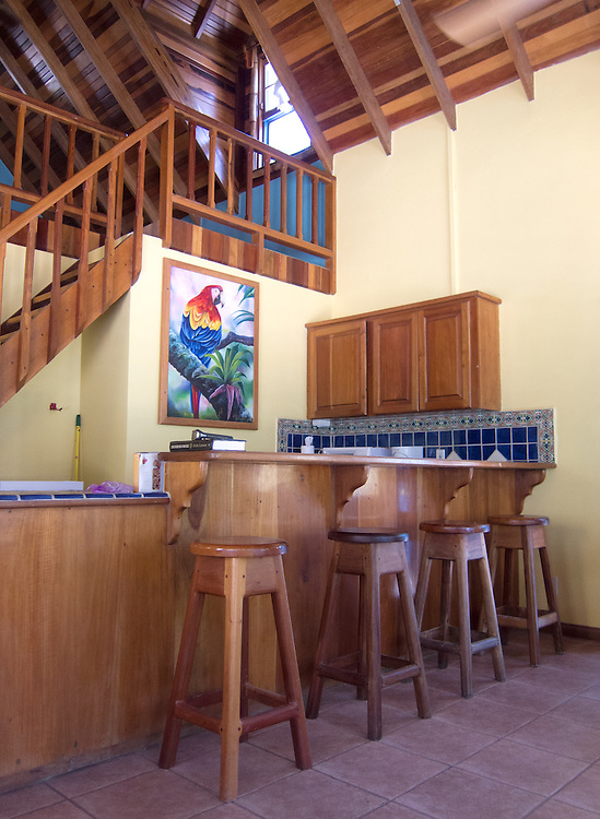 Ambergris Caye, Belize 8/31/2012.The kitchen in our cabana at Tranquility Bay..Alex Jones / www.alexjonesphoto.com