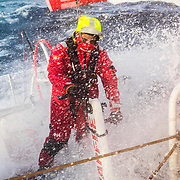 Leg 7 from Auckland to Itajai, day 09 on board MAPFRE, Blair Tuke, 26 March, 2018.