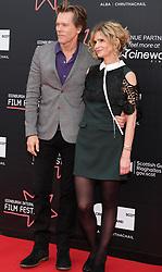 Edinburgh International Film Festival, Thursday 22nd June 2017<br /> <br /> STORY OF A GIRL (WORLD PREMIERE)<br /> <br /> Kyra Sedgwick (dir), Kevin Bacon (act)<br /> <br /> (c) Alex Todd | Edinburgh Elite media