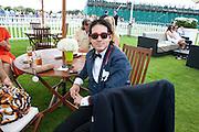 RICHARD DENNEN, Cartier International Polo. Smiths Lawn. Windsor. 24 July 2011. <br /> <br />  , -DO NOT ARCHIVE-© Copyright Photograph by Dafydd Jones. 248 Clapham Rd. London SW9 0PZ. Tel 0207 820 0771. www.dafjones.com.