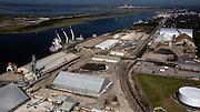 Roll on roll off  ships working at the Georgia Ports Authority Colonials Island facility, Monday,  Oct. 27, 2014, in Savannah, Ga., in Savannah, Ga.  (GPA Photo/Stephen B. Morton)