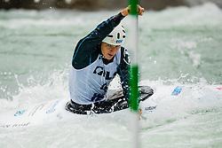 Nicolas GESTIN (FRA) during Canoe Semi Finals at World Cup Tacen, 18 October 2020, Tacen, Ljubljana Slovenia. Photo by Grega Valancic / Sportida