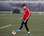 George Baldock of Sheffield Utd during a training session at the Steelphalt Academy, Sheffield. Picture date: 5th March 2020. Picture credit should read: Simon Bellis/Sportimage