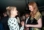 LADY ELOISE ANSON; OLIVIA INGE, InStyle's Best Of British Talent Party in association with Lancome. Shoreditch HouseLondon. 25 January 2011, -DO NOT ARCHIVE-© Copyright Photograph by Dafydd Jones. 248 Clapham Rd. London SW9 0PZ. Tel 0207 820 0771. www.dafjones.com.