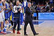 DESCRIZIONE : Eurolega Euroleague 2015/16 Group D Dinamo Banco di Sardegna Sassari - Maccabi Fox Tel Aviv<br /> GIOCATORE : Marco Calvani David Logan<br /> CATEGORIA : Ritratto Delusione Postgame<br /> SQUADRA : Dinamo Banco di Sardegna Sassari<br /> EVENTO : Eurolega Euroleague 2015/2016<br /> GARA : Dinamo Banco di Sardegna Sassari - Maccabi Fox Tel Aviv<br /> DATA : 03/12/2015<br /> SPORT : Pallacanestro <br /> AUTORE : Agenzia Ciamillo-Castoria/L.Canu