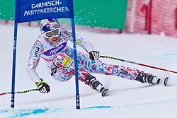 08-02-2011 SKIEN: FIS ALPINE WORLD CHAMPIONSSHIP: GARMISCH PARTENKIRCHEN<br /> Lindsey VONN (USA) looks dejected during Women Super G, Fis Alpine Ski World Championships in Garmisch Partenkirchen<br /> **NETHERLANDS ONLY**<br /> ©2011-WWW.FOTOHOOGENDOORN.NL/NPH-J. Groder