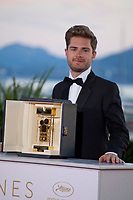 Director Lukas Dhont winner of the Camera d'Or prize for the film Girl at the Award Winner's photo call at the 71st Cannes Film Festival, Saturday 19th May 2018, Cannes, France. Photo credit: Doreen Kennedy
