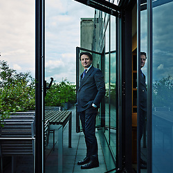 PARIS, FRANCE. MAY 29, 2013. Axel Dumas, Hermes' COO (Chief Operating Officier) in his office. Photo: Antoine Doyen