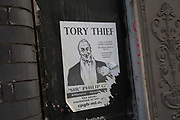 Sir Philip Green protest sticker in Digbeth, Birmingham, England, United Kingdom. Digbeth is an area of Central Birmingham, England. Following the destruction of the Inner Ring Road, Digbeth is now considered a district within Birmingham City Centre. As part of the Big City Plan, Digbeth is undergoing a large redevelopment scheme that will regenerate the old industrial buildings into apartments, retail premises, offices and arts facilities. There is still however much industrial activity in the south of the area.