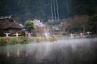 Heeki Park, Tamaki Mieno, Hiromi Ishikawa, MIdori Ishii, Miwa, RIko MInami, Noriko Shinbara at Yufuin, Oita - Japan