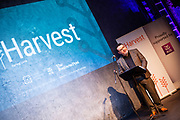 02/04/2019 Repro free:  <br /> Kenneth Deery AIB  at Harvest in the Mick Lally Theatre , an opportunity to share ideas for innovation and growth and discuss how to cultivate the city as a destination for innovation, hosted by GTC  and Sponsored by AIB and The Sunday Business Post .<br /> <br /> A keynote address Start Up to Multinational - Positioning & Marketing Software for an International Audience from Joe Smyth, VP of R&D at Genesysat Genesys and a Panel Discussion on International Growth Through Innovation and Positioning<br /> Mary Rodgers- Innovation Community Managerat the Portershed (moderator)<br /> Kathryn Harnett- Senior Consultantat Milltown Partners LLP, Giovanni Tummarello, Founder and CPOat Siren,  Mark Quick, Founding Director 9th Impact and Founding Director, Nephin Whiskey, Nicola Barrett, Senior Marketing Managerat Connacht Rugby<br />  Photo: Andrew Downes, Xposure