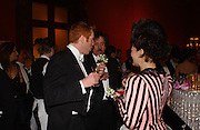 Damian Lewis, Tim Burton and Helen McCrory, Belle Epoche gala fundraising dinner. National Gallery. 16 March 2006. ONE TIME USE ONLY - DO NOT ARCHIVE  © Copyright Photograph by Dafydd Jones 66 Stockwell Park Rd. London SW9 0DA Tel 020 7733 0108 www.dafjones.com