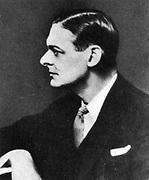 Thomas Stearns (TS) Eliot (1888-1965), American-born British poet dramatist and critic.