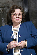 Marta Mendez, owner, in the winery. Bodega Plaza Vidiella Winery, Las Brujas, Canelones, Uruguay, South America