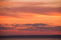 Backshore Sunset, Castine, Maine, US