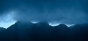 """""""Quise ser niebla, navegar invisible entre las montañas de nuestros recuerdos, nacer con los ríos en el alba de tu mirada"""".<br /> <br /> Valhalla / Cerro Picacho, Panamá.<br /> <br /> Panorámica de 2 fotografías.<br /> <br /> Edición de 25   Víctor Santamaría."""