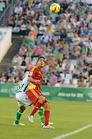 Montoro during the match between Real Betis and Recreativo de Huelva day 10 of the spanish Adelante League 2014-2015 014-2015 played at the Benito Villamarin stadium of Seville. (PHOTO: CARLOS BOUZA / BOUZA PRESS / ALTER PHOTOS)
