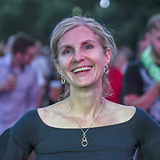 Thousands picnic at Kew The Music Festival 2018 Day 4 and watch THE HUMAN LEAGUE, BLANCMANGE and Luna in Kew Garden on 13 July 2018, London, UK.