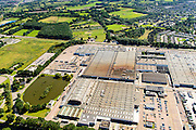 Nederland, Noord-Brabant, Eindhoven, 23-08-2016; DAF Truckfabriek, producent van bedrijfswagens, onderdeel van Paccar.<br /> DAF Truck Factory, manufacturer of trucks, a division of Paccar.<br /> luchtfoto (toeslag op standard tarieven);<br /> aerial photo (additional fee required);<br /> copyright foto/photo Siebe Swart