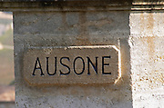 Chateau Ausone, Saint Emilion, Bordeax, France